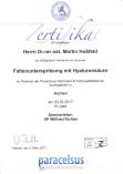 ästhetische Medizin faltenunterspritzung mit Hyaluronsäure  Heilpraktiker Dr. Martin Hoßfeld Aachen Herzogenrath