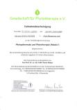 Fortbildung Phytotherapie GPT März 2019