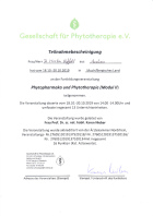 Fortbildung Modul II Phytotherapeut GPT