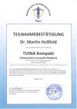 Fortbildung Tuina kompakt der DTA Deutschen Tuina Akademie